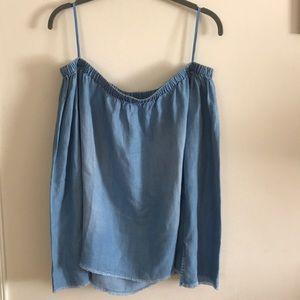 NWOT cloth & stone   off shoulder Blouse